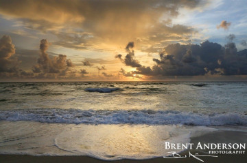 Storms Against Sunrise - Palm Beach, FL