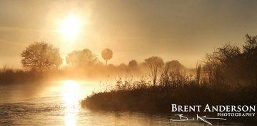 Kissimmee River Sunrise - Okeechobee, FL