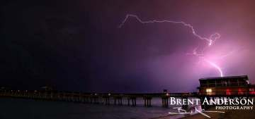 Lightning Crashes - Palm Beach, FL