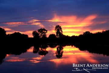 Electric Sunset - Kissimmee River, Highlands, FL