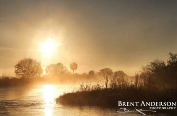 Kissimmee River Sunrise 1 - Okeechobee, FL